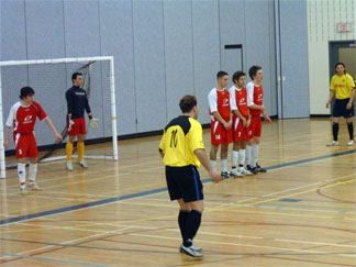 FC Quebec on the Canadian Futsal Club Championships tournament on 2007